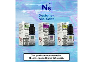The 5 Best Element E-Liquid NS Flavours - Nicotine Salts Review