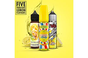 Zesty Lemon E-Liquid Flavours