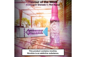 Flavour of the Week - Bubblegum Grenade by Riot Squad - Punk Grenade