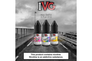 The Best IVG Salts Flavours
