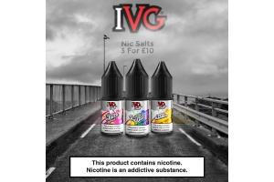 The Best IVG Salts Flavours