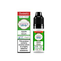 Apple Sours | 10ml Dinner Lady E-Liquid