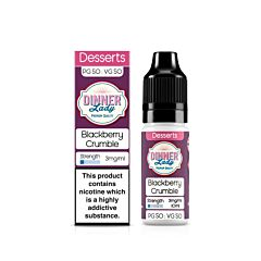 Blackberry Crumble | 10ml Dinner Lady E-Liquid