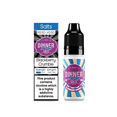 Blackberry Crumble | 10ml Dinner Lady Nic Salts