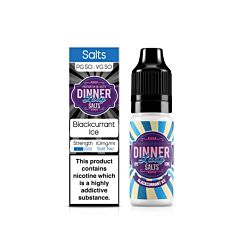 Blackcurrant Ice | 10ml Dinner Lady Nic Salts
