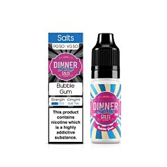 Bubblegum | 10ml Dinner Lady Nic Salts