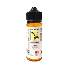 Crema 100ml Element E-Liquid Dripper Shake N Vape Shortfill
