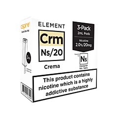 Crema - 3-Pack NS10/NS20 E-Liquid Pods