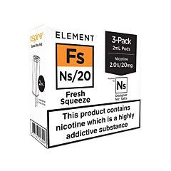 Fresh Squeeze | 3-Pack Element NS10/NS20 E-Liquid Pods