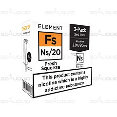 Fresh Squeeze | 3-Pack Element NS10/NS20 E-Liquid Pods