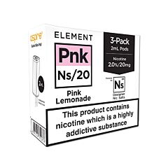 Element Pink Lemonade NS20 E-Liquid Pods
