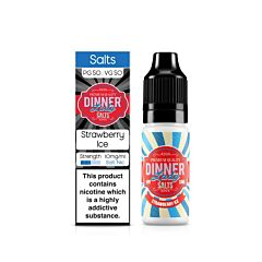 Strawberry Ice | 10ml Dinner Lady Nic Salts