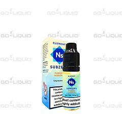 Mango Passion Element SubZero Nic Salts