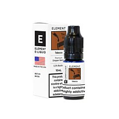 Tobacco | 10ml Element Dripper E-Liquid