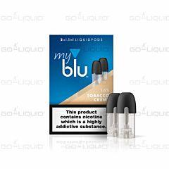 Tobacco Creme | 1.5ml MyBlu Pod (2-Pack)