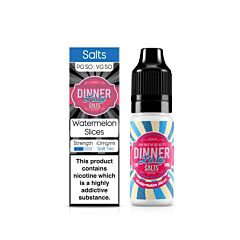 Watermelon Slices | 10ml Dinner Lady Nic Salts