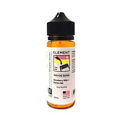 Strawberry Whip Banana Nut | 100+20ml Element Emulsion E-Liquid