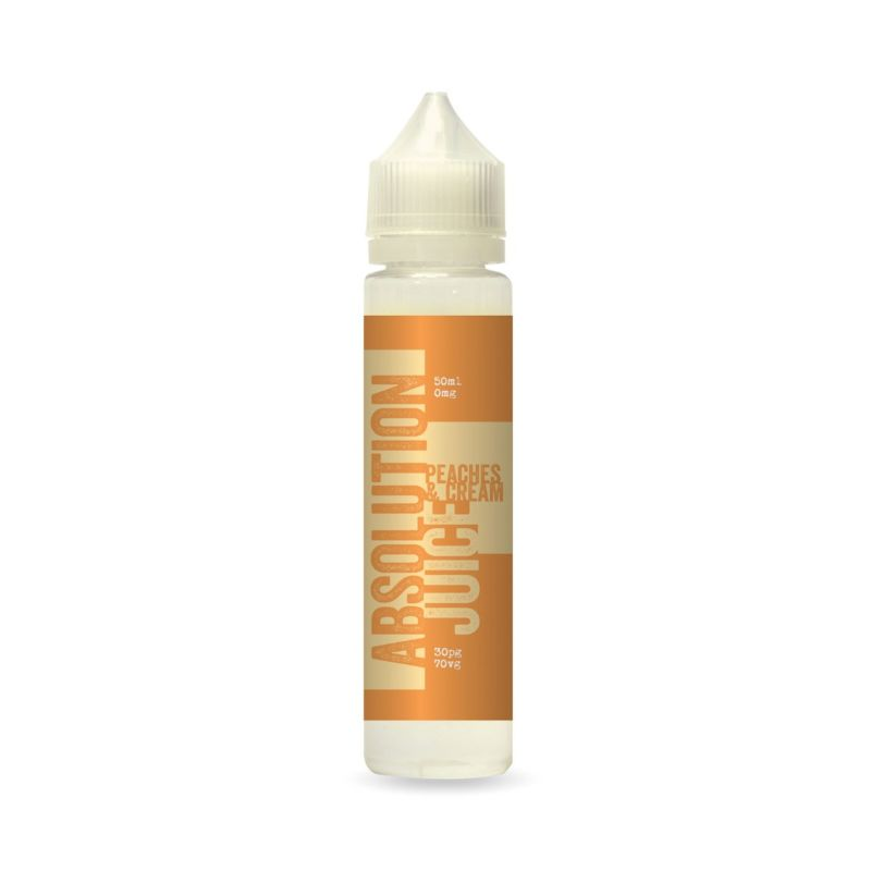 Peaches and Cream | 50ml Absolution Juice Shortfill