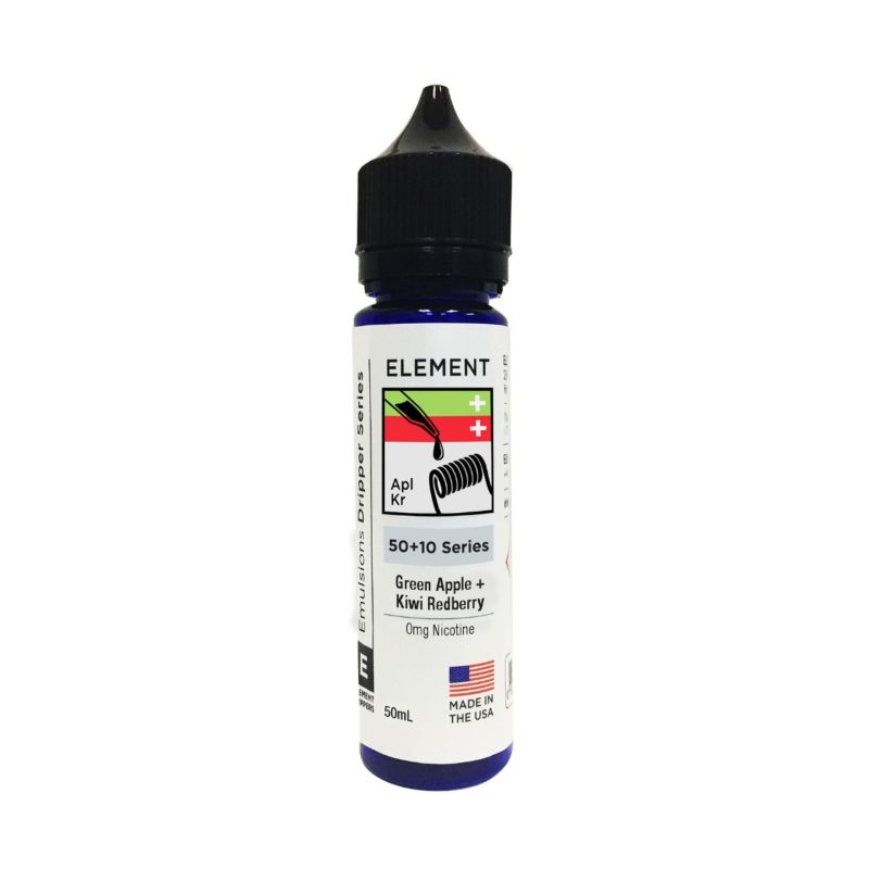 Green Apple and Kiwi Red Berry - Element Emulsion E-Liquid