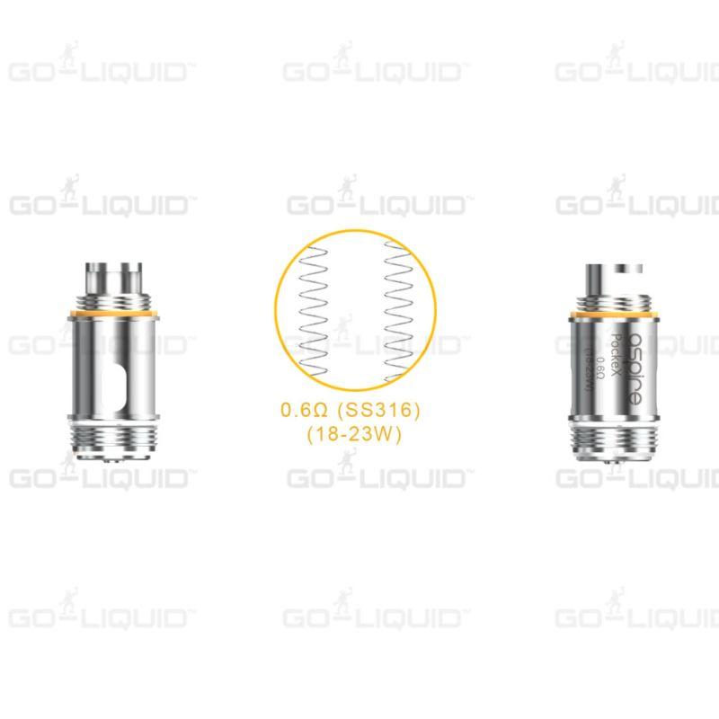 Aspire Pocket X Coils