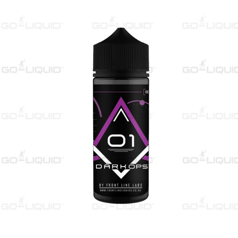 Blackcurrant 100ml Dark Ops by Frontline E-Liquid