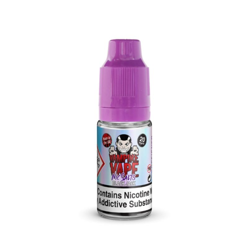 Black Jack | 10ml Vampire Vape Nic Salts