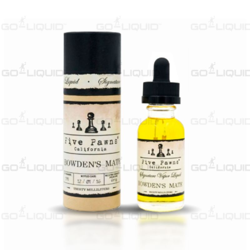 Bowden's Mate | ShortFill E-Liquid by Five Pawns
