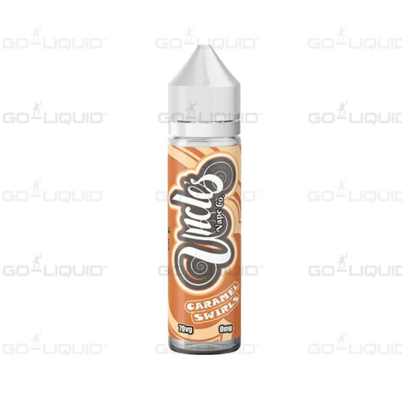 Caramel Swirls | 50ml Uncles Vape Co E-Liquid