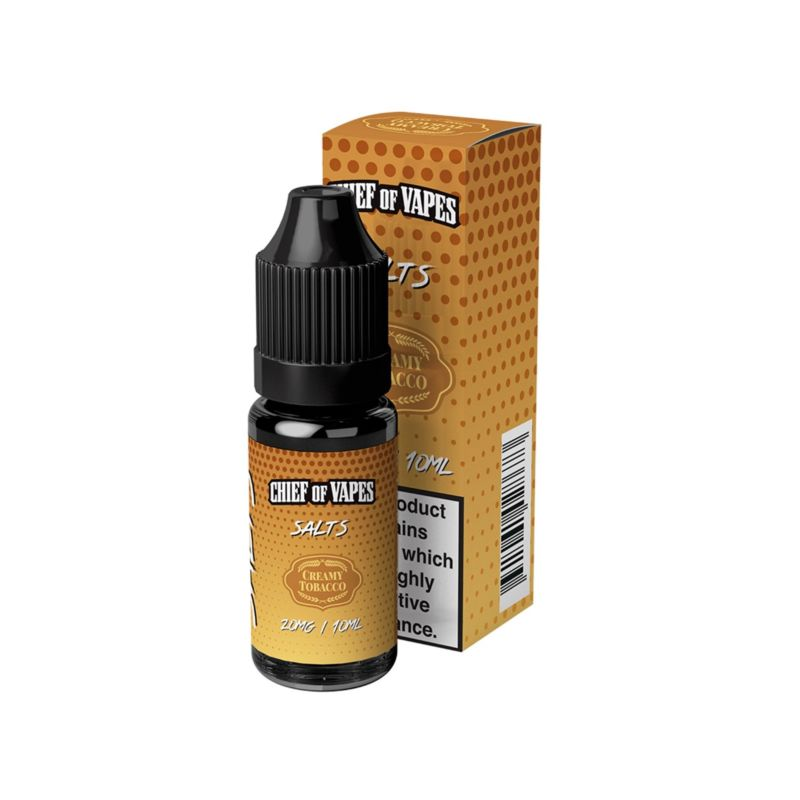 Creamy Tobacco | 10ml Chief of Vapes Salts E-Liquid