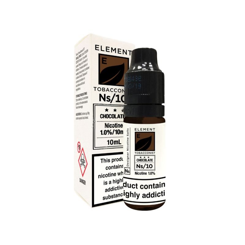 Chocolate Tobacco Element NS20 E-Liquid
