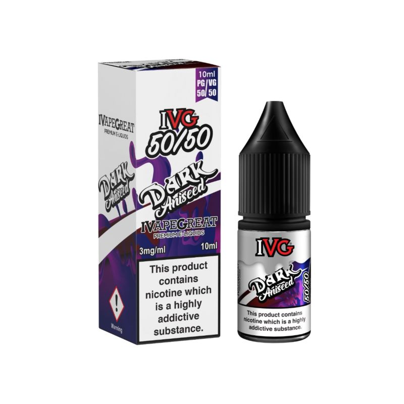 Dark Aniseed | 10ml IVG E-Liquid