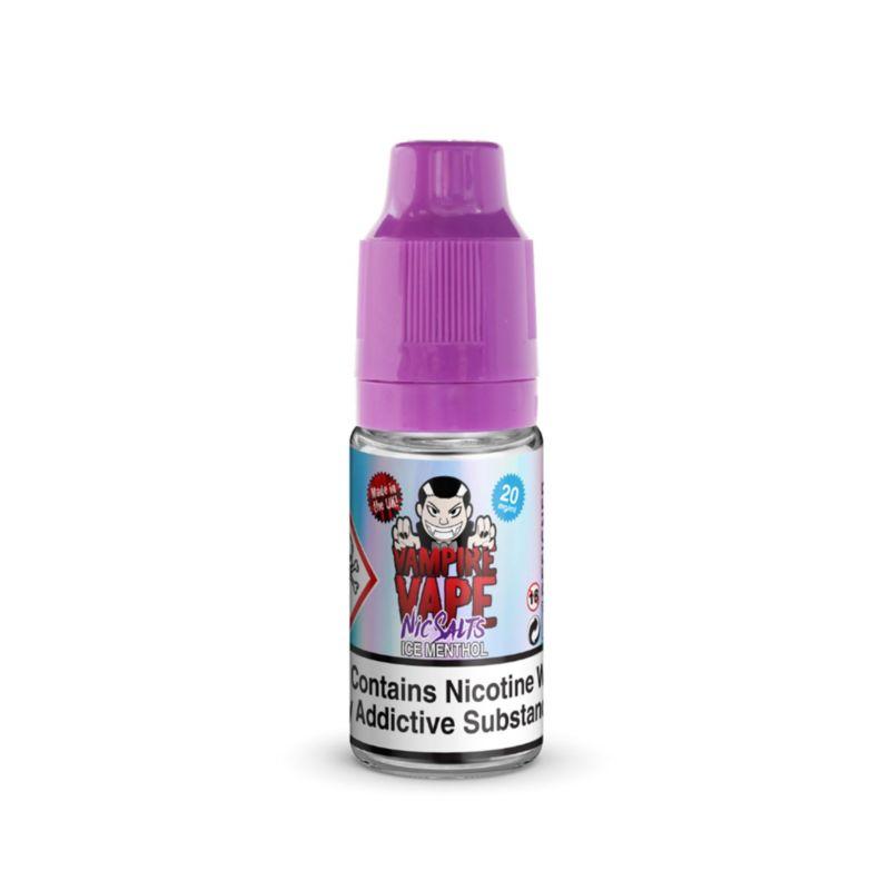 Ice Menthol | 10ml Vampire Vape Nic Salts