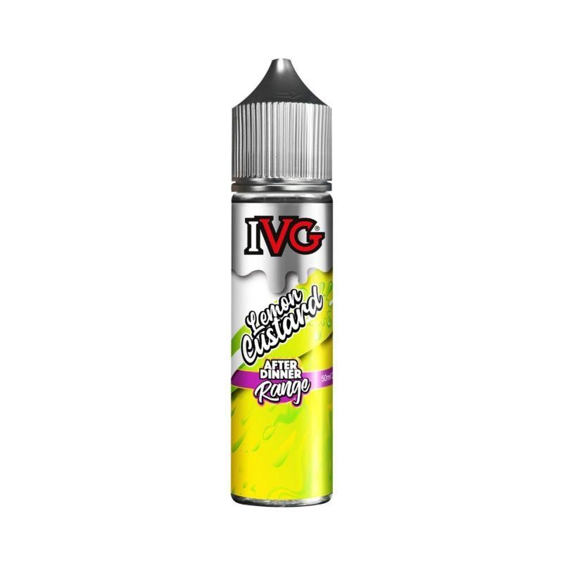 Lemon Custard 50ml IVG Custard Shortfill E-Liquid