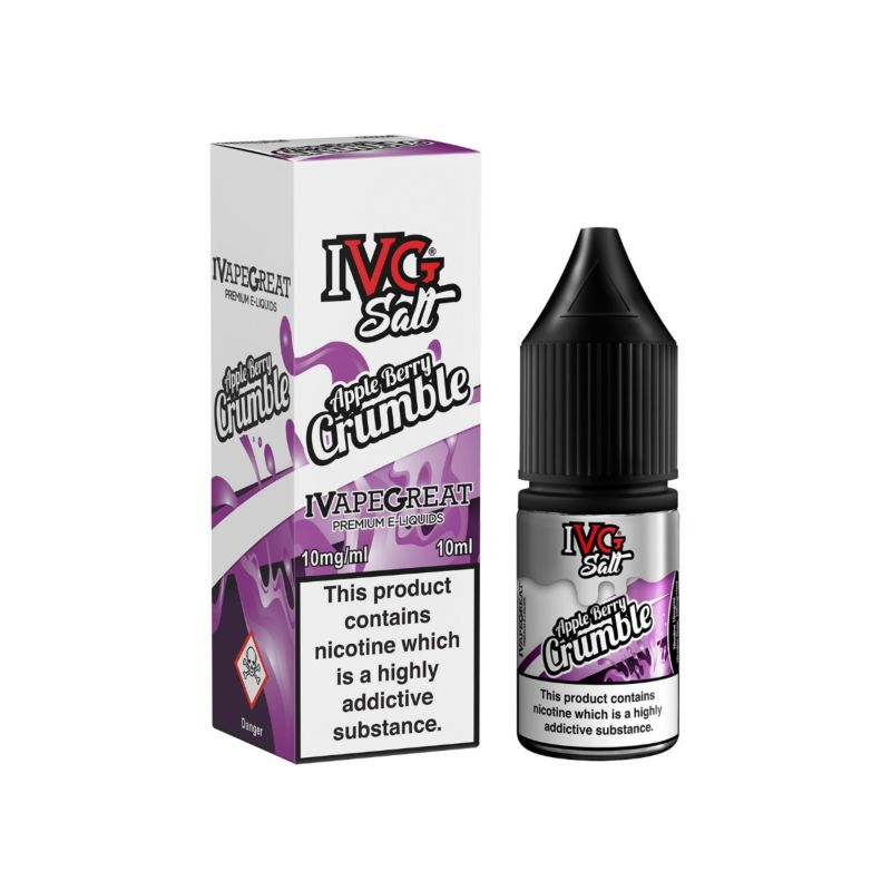 Apple Berry Crumble | 10ml IVG Salt E-Liquid