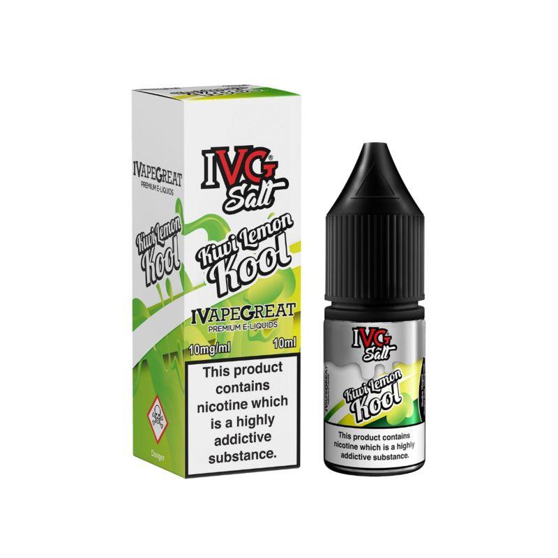 Kiwi Lemon Kool | 10ml IVG Salt E-Liquid