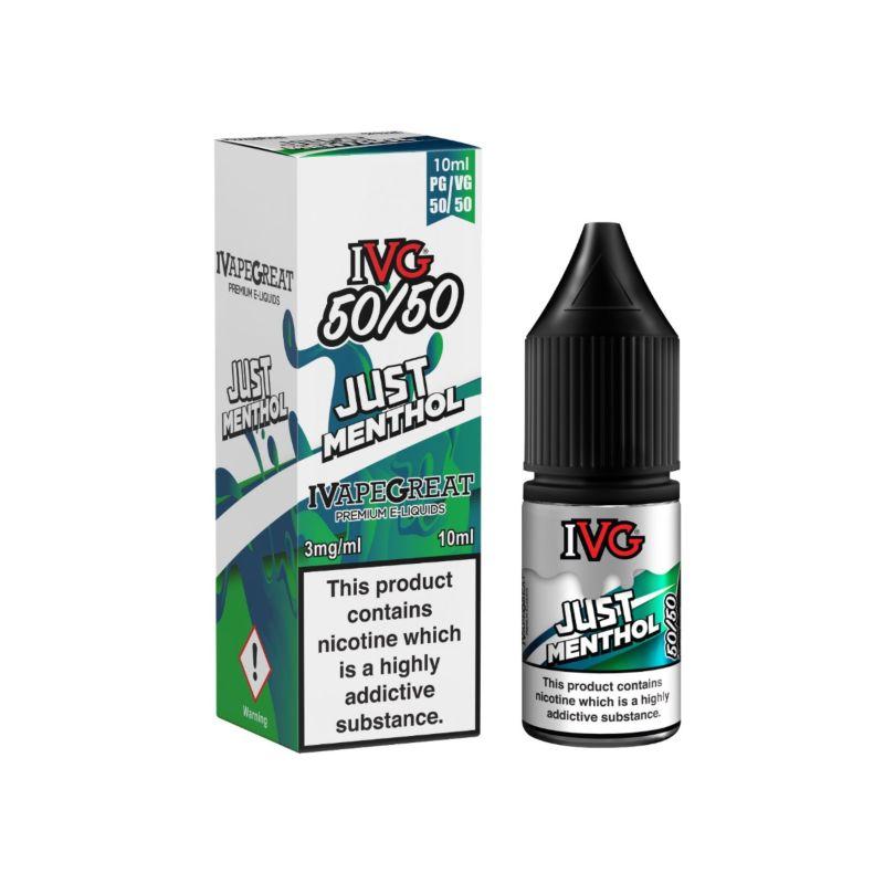 Just Menthol | 10ml IVG E-Liquid