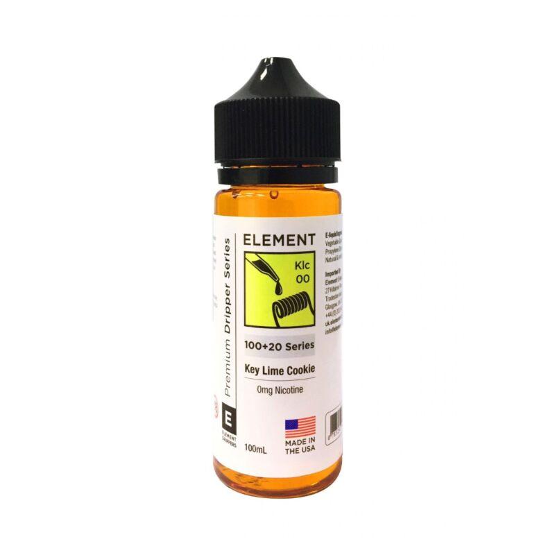 Key Lime Cookie   100+20ml Element Dripper E-Liquid