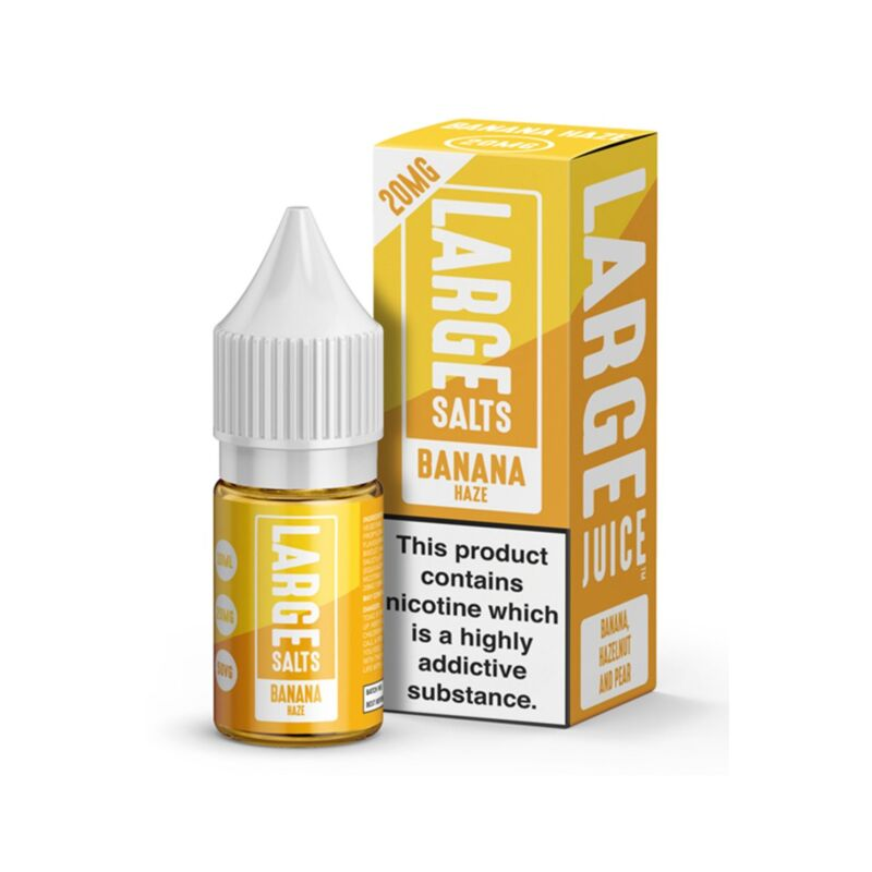 Banana Haze 10ml Large Salts