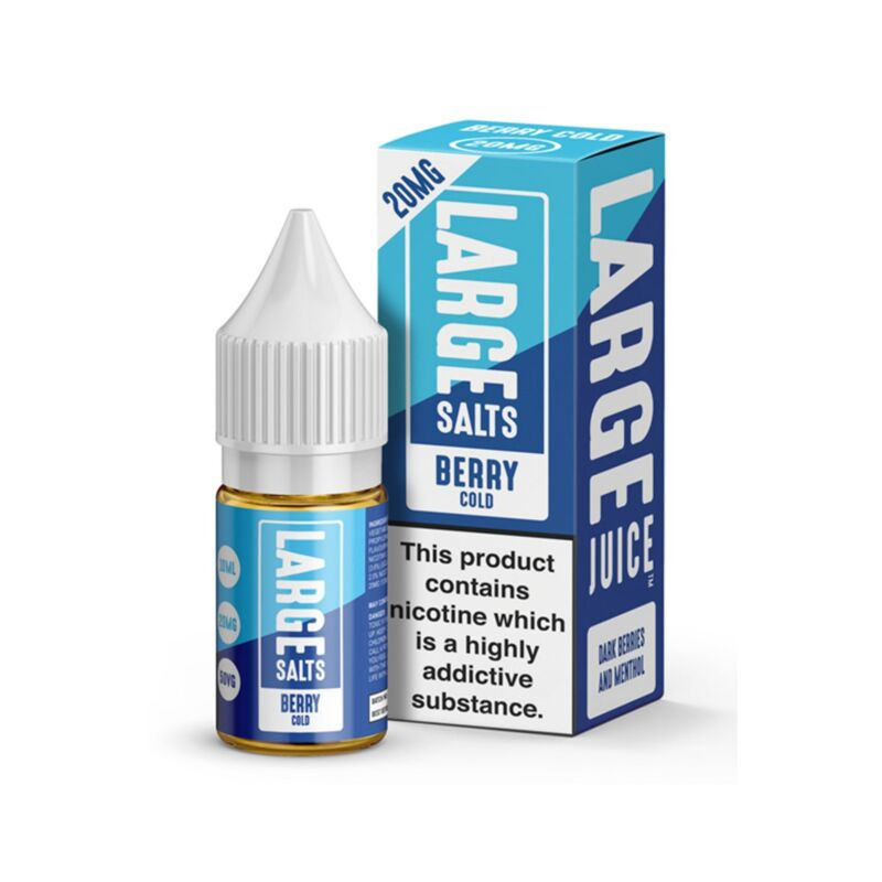 Berry Cold | 10ml Large Salts E-Liquid