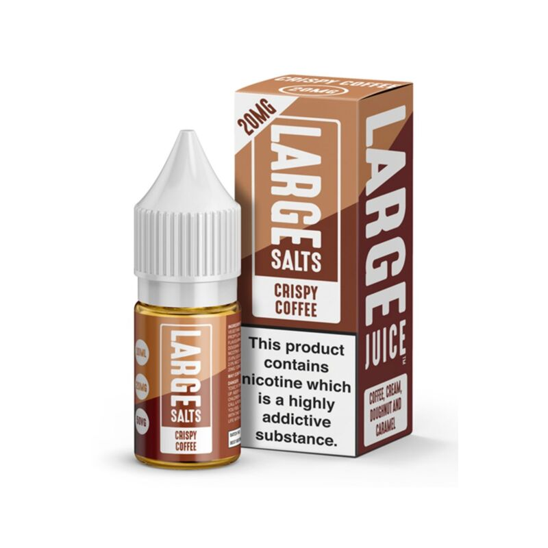 Crispy Coffee | 10ml Large Salts E-Liquid