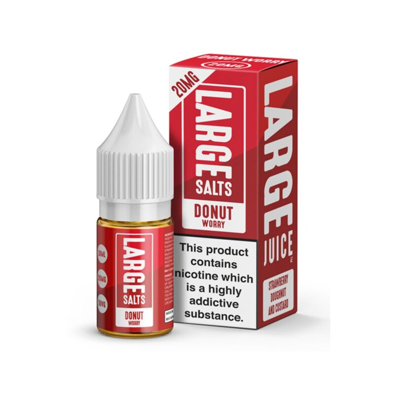 Donut Worry | 10ml Large Salts E-Liquid