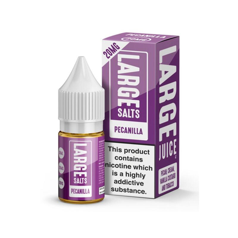 Pecanilla 10ml Large Salts E-Liquid