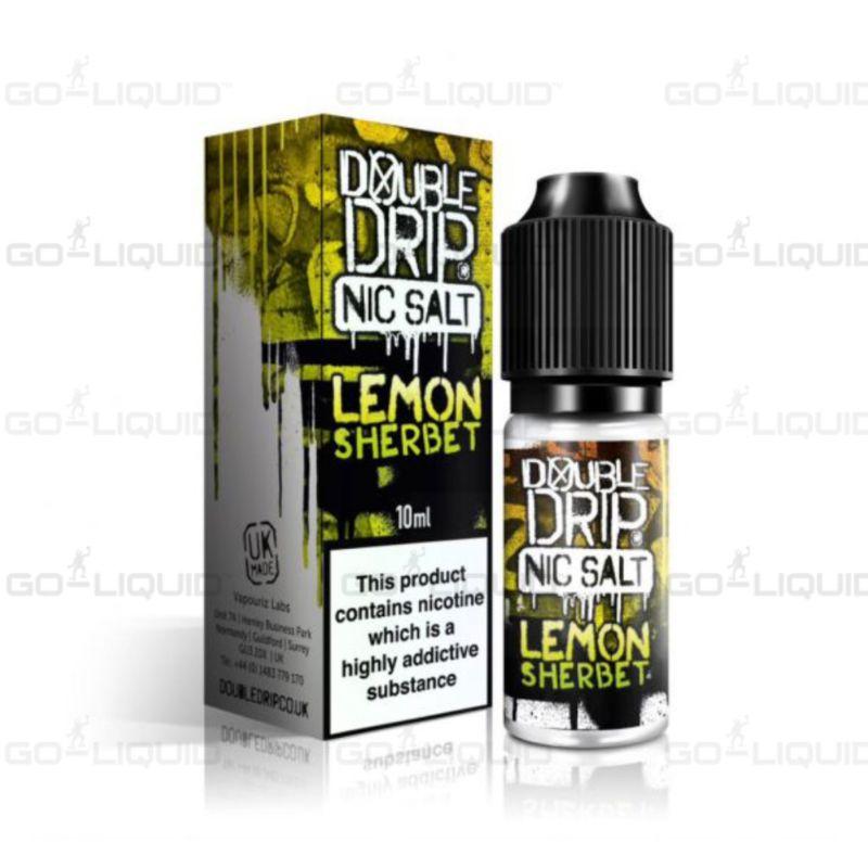 Lemon Sherbet | 10ml Double Drip Nic Salt