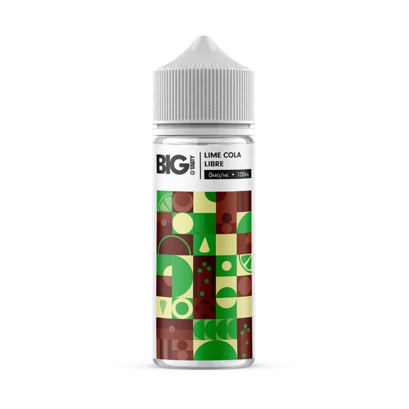 Juiced Lime Cola Libre 100ml Big Tasty Shortfill