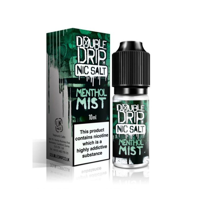 Menthol Mist 10ml Double Drip Nic Salt