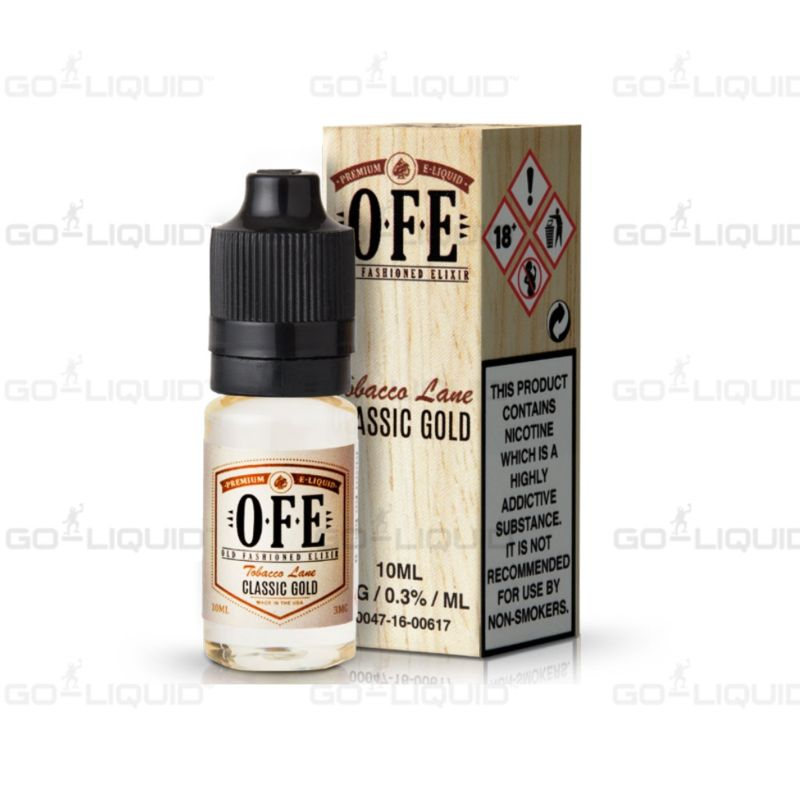 Classic Gold Tobacco by OFE E-Liquid