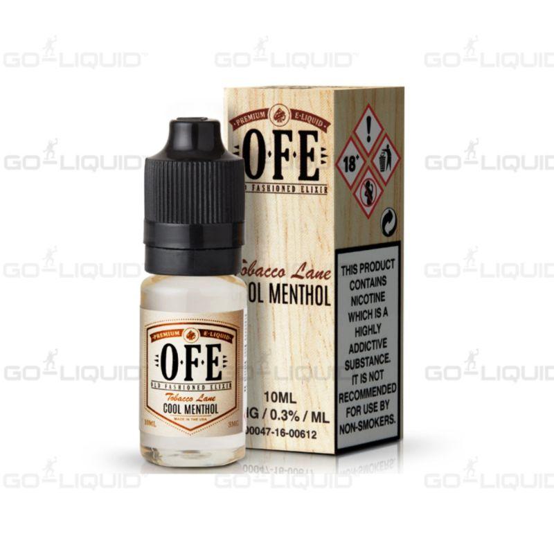 Cool Menthol Tobacco by OFE E-Liquid
