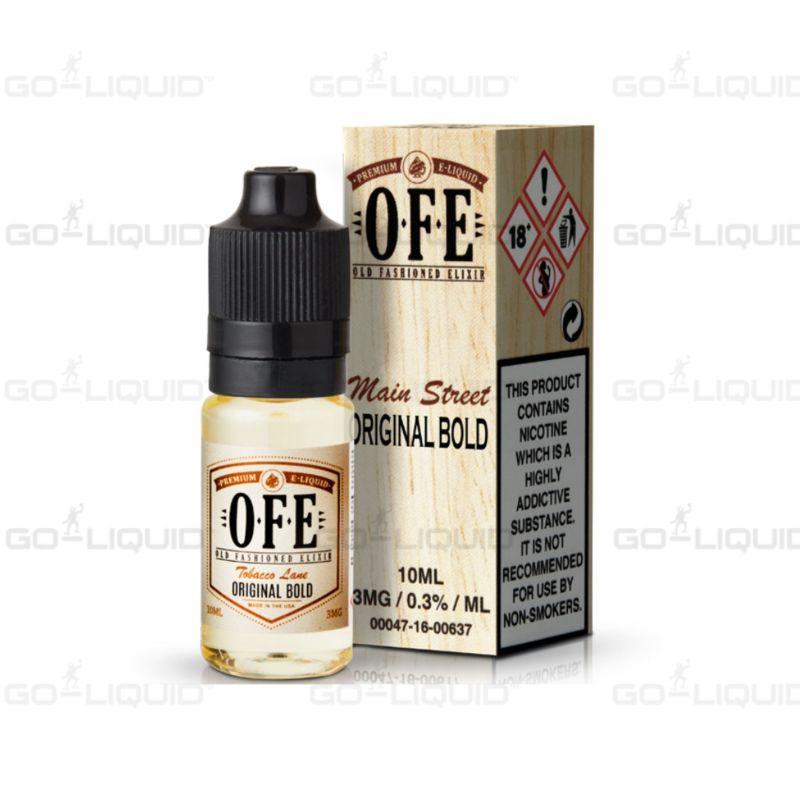 Original Bold Tobacco by OFE E-Liquid