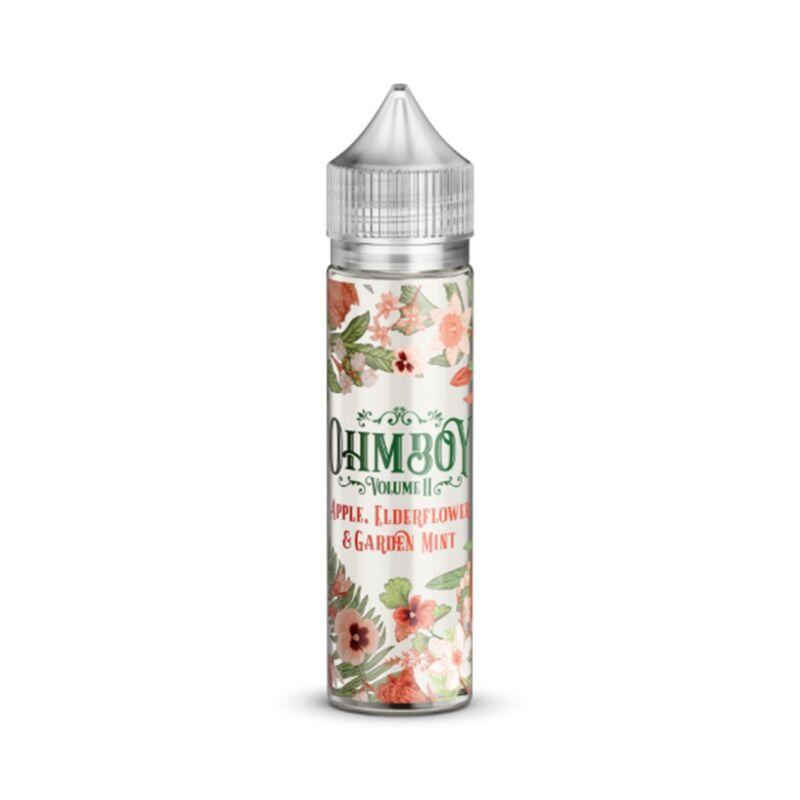 Apple, Elderflower and Garden Mint | 50ml OhmBoy Vol 2 Shortfill
