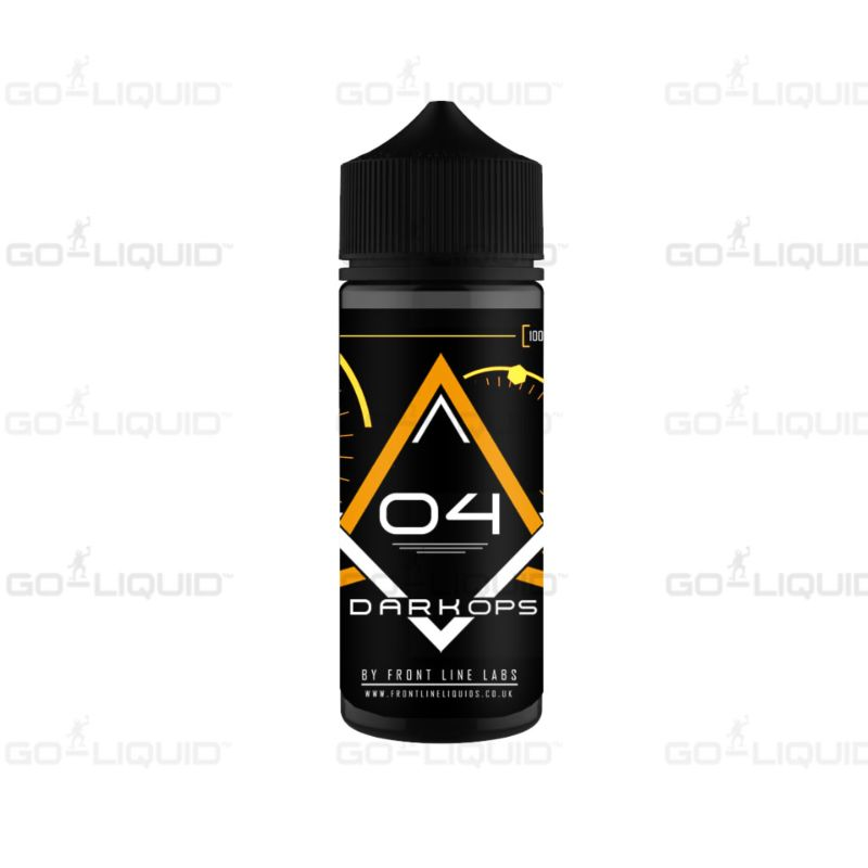 Pineapple | 100ml Dark Ops by Front Line E-Liquid